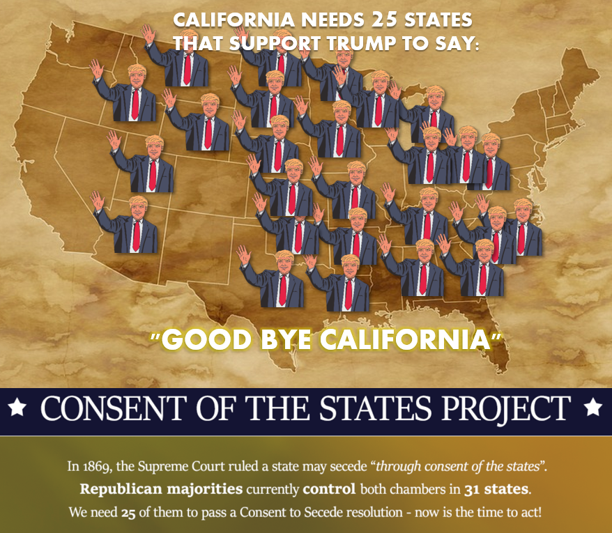 Why Conservatives Are Happy to Let California Secede