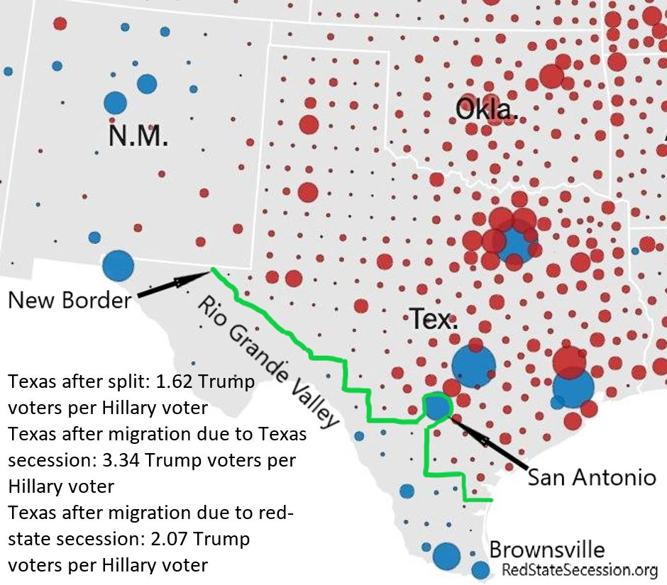Split Texas to Keep Texas Red