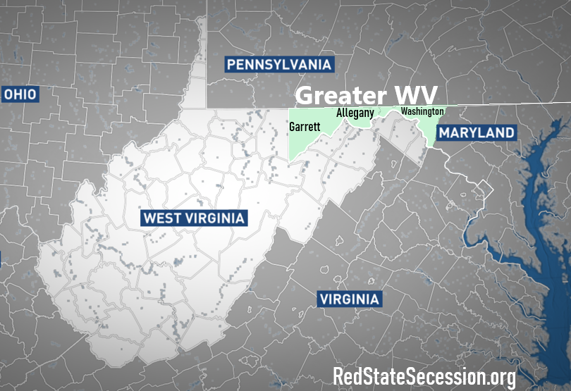 Why it's a Win-Win… Legislators Now Asking to Add Western Maryland Counties to WV
